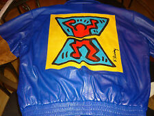 Keith Haring Vintage Butter Leather Jacket..Brand New!!! Super Collectible!!