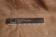 Pantone Color Formula Guide Metallic Coated New Factory Sealed