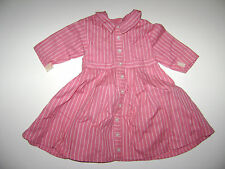 American Girl Doll Addy Meet Outfit Dress Striped RETIRED 1993 Pleasant Company