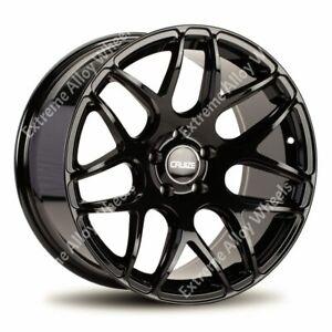 "Alloy Wheels 18"" CR1 For Opel Vauxhall Vivaro Mk2 Renault Trafic 2014> Wr Black"