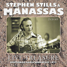 STEPHEN STILLS & MANASSAS New Sealed 2018 UNRELEASED 1971 LIVE CONCERT 2 CD SET