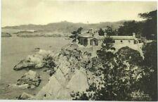 Carmel Highlands Residence On Cliffs California CA Photo L. S. Slevin Postcard
