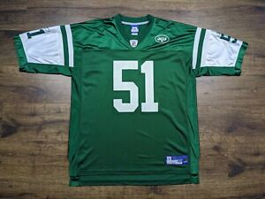 Reebok New York Jets Jonathan Vilma Jersey Size XX-Large