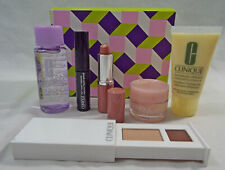 Clinique 7 Piece Set Remover Dd Shadow Mascara Lip in Canoodle in Box
