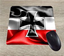 WWI Iron Cross German Patriotic Mouse Pad EK Eisernes Kreuz gift for men