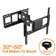 "Articulating LCD LED Full Motion TV Wall Mount Bracket 32"" 37"" 40"" 42"" 46"" 50"""
