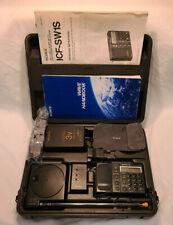 Sony ICF-SW1S FM Stereo/LW/MW/SW PLL Synthesized Receiver System - WORKING
