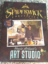 SPIDERWICK CHRONICLES: Uncle Arthur's ART STUDIO Paint+Stickers+Scissors+Book+