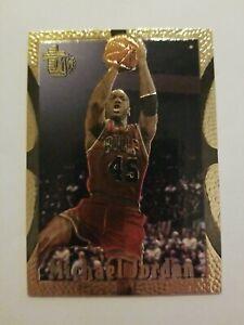 1994-95 Topps MB Embossed Gold Parallel  #121 MICHAEL JORDAN  Chicago Bulls