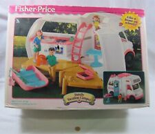 New Fisher Price Loving Family Dollhouse Rv Vacation Camper Motor Home '98 Boat