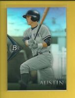 Tyler Austin RC 2014 Bowman Platinum Chrome Prospects Refractors #BPCP37 Yankees