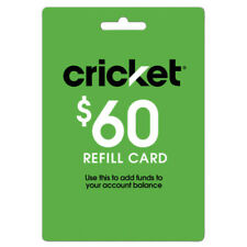 Cricket Wireless $60 Refill. Fast & Easy