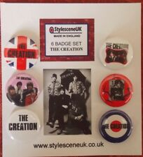 Mod: The Creation mod band 25mm Button Badge Set