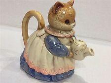Takakashi Kitten Tea Pot Japan Exquisite