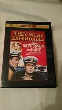 They Were Expendable (DVD, 2007) ~ Robert Montgomery, John Wayne, Donna Reed