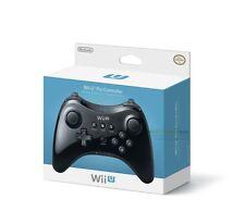 Officiel Nintendo Wii U Pro Sans-fil Manette De Jeu Pour (Noir)