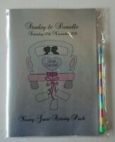A5 Childrens Kids Personalised Wedding Activity Pack Book Favour Colouring
