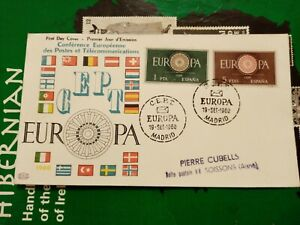 Spain 1960 fdc
