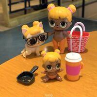 Baby Cat Doll Family SERIES 2 & LIL Baby Cat Sister & Pet Rare Gift Original