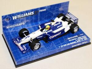 Minichamps 1/43 400 010025 Williams F1 BMW FW23 R Schumacher San Marino GP