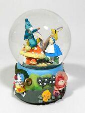 "Disney Alice in Wonderland Movie Musical Snow Globe Rabbit , "" I'm Late""  Enseco"
