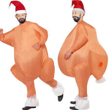 Unisex Inflatable Costume Suit Adult Funny Turkey Cosplay Christmas Outfits