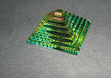 Piramide Cristallo Peacock Scala GLASS CRYSTAL COLOUR PYRAMID ORNAMENT 108803-45