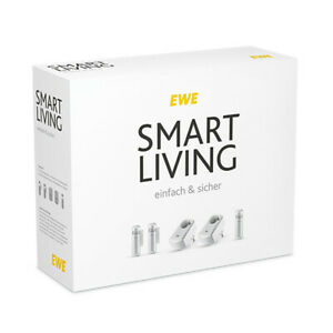 EWE Smart Living einfach & sicher | Devolo Home Control Paket | 5 Aktoren