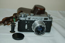 FED 2 (type D2) Vintage 1960 Soviet Rangefinder Camera. Case. A034087. UK Sale