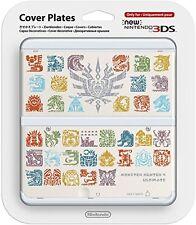 NEW Nintendo 3DS Cover Plate Monster Hunter 4 Bianco M4HU NINTENDO
