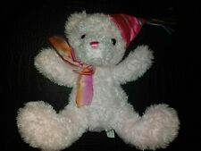 Pink teddy bear Soft Stuffed Plush Toy Party Hat