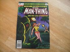 Man-Thing #5 (2nd Series) (6.5 Fn+) Marvel- 7/80 - Nice Mid To High Grade Comic!