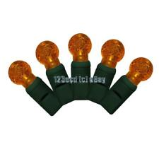 G12 Orange LED Lights - Christmas Lights