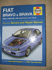 FIAT BRAVO & BRAVA 1995 TO 2000 EXELLENT CAR MANUAL FREE UK POST