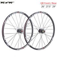 "7-11s Front Rear Carbon Hub Mountain Bike Wheels 26/27.5/29"" QR MTB Rim Wheelset"