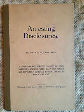 Arresting Disclosures by John A. Bolton. Strange Findings in Washed Underwear