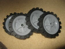 "4 K'Nex Knex Wheels 2.5"" (4)"