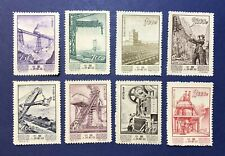 1954' China Stamps Set Of Industrial Development (8) Unused