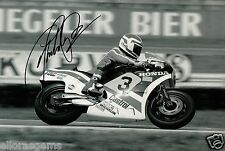 Freddie Spencer Fast Freddie 500cc World Champion Moto GP Hand Signed Photo AJ