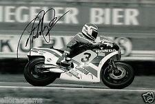 Freddie Spencer Fast Freddie 500cc World Champion Moto GP Hand Signed Photo AJ