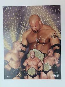 Bill Goldberg Autographed Stunning Danny Day  Lithograph  WWE WCW WWF
