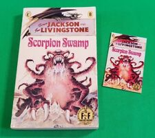 Scorpion Swamp ***VGC GOLD FOIL COVER NUMBER!!*** Fighting Fantasy Puffin