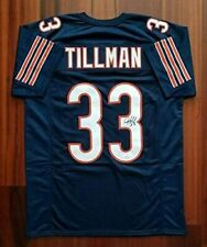 Charles  Tillman Autographed Signed Jersey Chicago Bears JSA