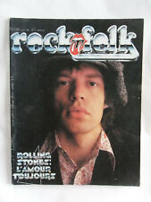 ROCK N FOLK N° 139 BOB DYLAN AMANDA LEAR ROLLING STONES DEBBIE HARRIS TELEPHONE