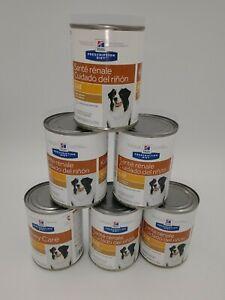 6 Cans 13 oz. Lamb Hill's Prescription Diet Kidney Care Dog Food w/ Dents