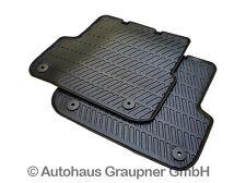 Audi Original Gummi Fussmatten A6 4F bis 03/2006 hinten Matten Gummifußmatten