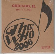 The Who: Live - Chicago, IL 09/25/06 (DVD, 2015) Cardboard New and Sealed