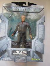 Star Trek Nemesis Data and Picard Action Figures NIB, 2002