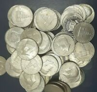 10 ASSORTED  KENNEDY HALF DOLLARS FROM 1971-2010  EACH LOT IS FOR 10 COINS