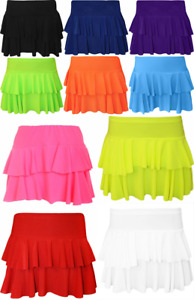 New Women's Sexy RaRa Layered Mini Skirt Women Club Dance Party Short Skirt